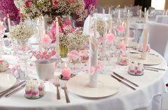 Dekoracje weselnego sto�u