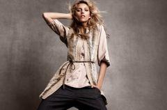 Anja Rubik w zimowej kolekcji H&M 2011