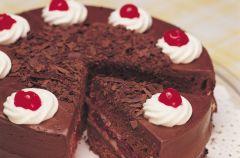 Ciasto czekoladowe z wi�niami