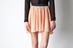 Plisowane sp�dnice - moda na wiosn� i lato 2012