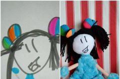 Zabawki zainspirowane dzieci�cymi rysunkami