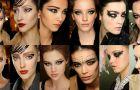 Czarny makija� oka