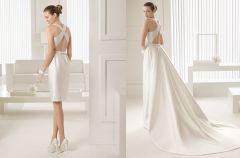 Suknie �lubne 2 w 1 - dopinane sp�dnice i treny