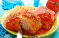 Go��bki w pomidorowym sosie