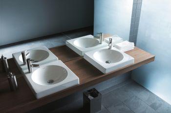 Designerskie umywalki od Duravit
