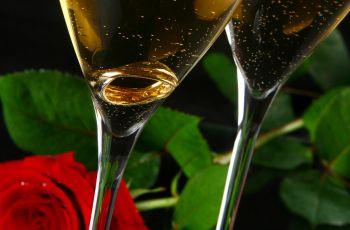 Drinki na Walentynki - kolacja walentynkowa