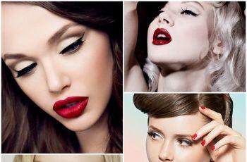 Klasyczny hollywoodzki makija� - makija�e sylwestrowe