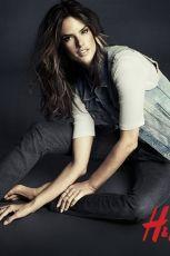 Supermodelka Alessandra Ambrosio w jesiennej kolekcji H&M Denim - H&M
