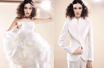 Suknie �lubne Rina Cossack 2014 (i spodnium!) - kolekcja �lubna 2014