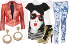 Glam rock - makija� i stylizacja  z We-Dwoje.pl