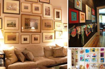 Artystyczna domowa galeria