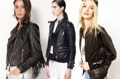 Czarne ramoneski - moda na wiosn� 2013