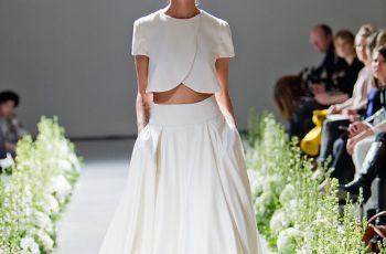 Dwucz�ciowe suknie �lubne