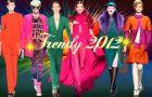 Kolorowe stylizacje - Trendy 2012