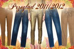 Spodnie damskie jesie�-zima 2011/2012