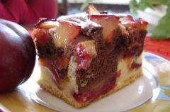 Ciasto ze �liwkami