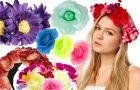 Kwiaty we w�osach - 3 pomys�y jak je nosi�!