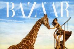 Demi Moore w krainie czar�w - sesja dla Harpers Bazaar