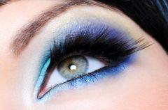 W letnim kolorze blue