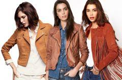 Br�zowe ramoneski - moda na wiosn� 2013