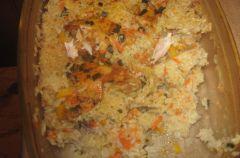 �wiartki z  kurczaka w ry�u