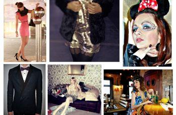Sylwestrowo-karnawa�owe stylizacje z blog�w o modzie! - sukienki na karnawa�