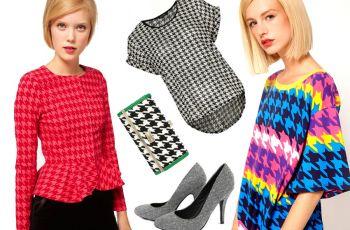 Modna pepitka - trendy 2012/2013!