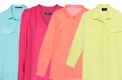 10 kolorowych bluzek do pracy za mniej ni� 100z�