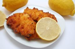 Kotlety drobiowe w sosie cytrynowym