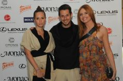 Go�cie na pokazie Tadashi Fashion Night