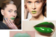 Zielona pomadka