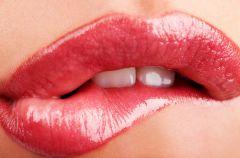 Triki na pi�knie r�owe usta