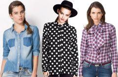 Koszule i bluzki na jesie� i zim� - 25 hit�w sezonu!