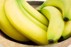 Lane kluseczki z bananami