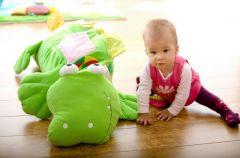 Zasady bezpiecze�stwa ma�ego dziecka w domu