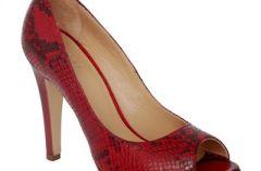 Czerwone buty Venezia na sezon wiosna/lato 2012