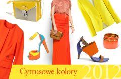Pomara�czowy i ��ty - trendy wiosna/lato 2012