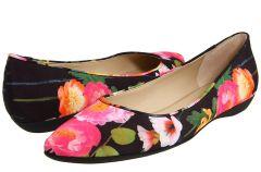 Buty w motywach kwiatowych