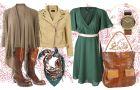 Moda dla przysz�ej mamy - stylizacje