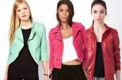 Kolorowe ramoneski - moda na wiosn� 2013