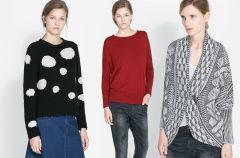 Swetry Zara na jesie� i zim� 2013/14