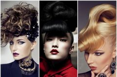Sylwestrowe fryzury haute couture