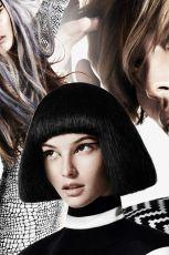 Modne kolory w�os�w i nowoczesne fryzury