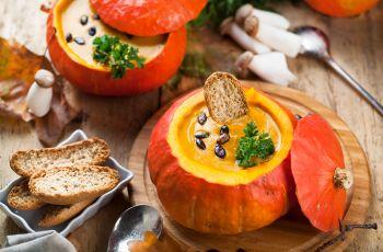 Kulinarne r�no�ci - Jesienne zupy - smaczne i po�ywne