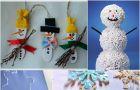 Pomys�y na zimowe prace plastyczne dla dzieci