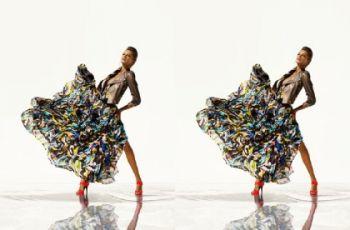 Kalejdoskopowe wzory, kolory i pawie pi�ra czyli Williamson dla H&M