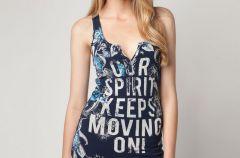 Najnowsza kolekcja bluzek marki Bershka na 2012