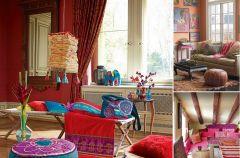 Salon w stylu hippie