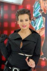 Anna Mucha - makija� i fryzura