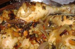 Kurczak z grzybkami